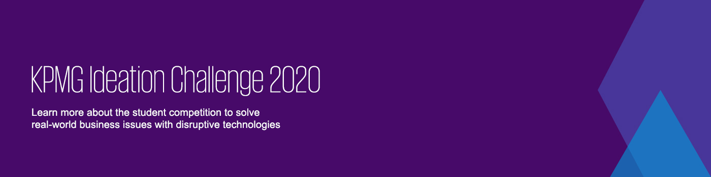 KPMG Ideation Challenge 2020'