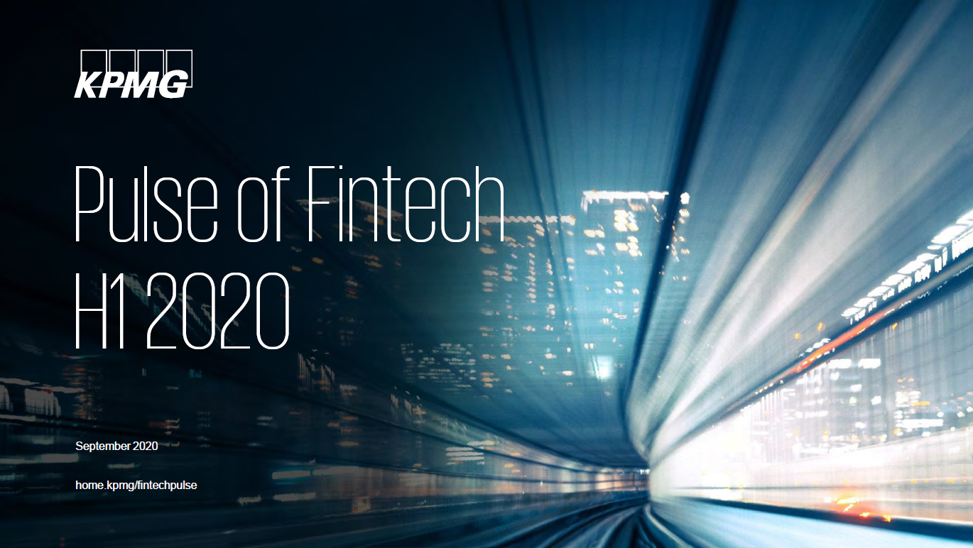 Pulse of Fintech H1'20, PDF cover