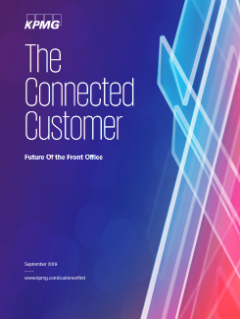 The connected customer: Future of front office - PDF thumbnail