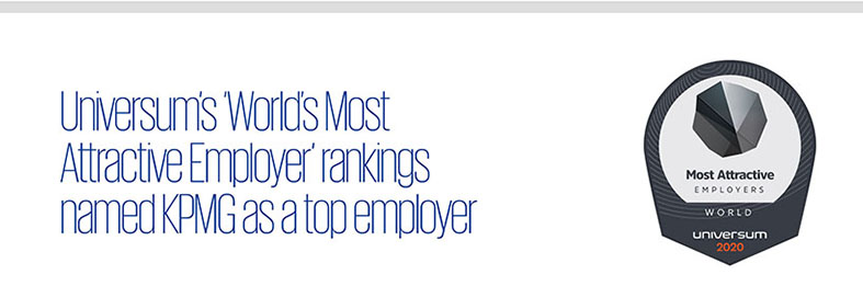 Universum's 'World's Most Attractive Employer'