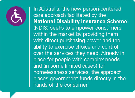 National Disability Insurance Scheme quote graphic