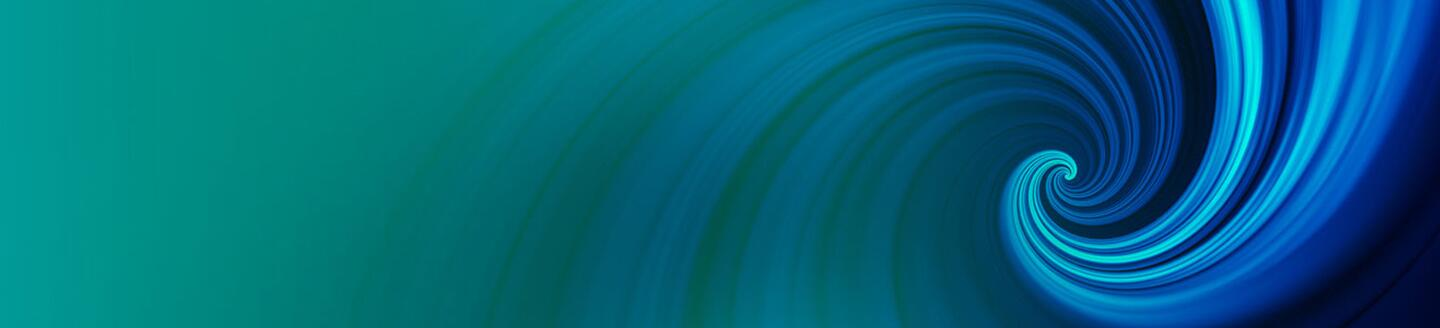 abstract blue spiral