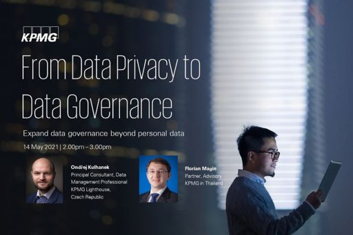 From Data Privacy to Data Governance – Expand data governance beyond personal data