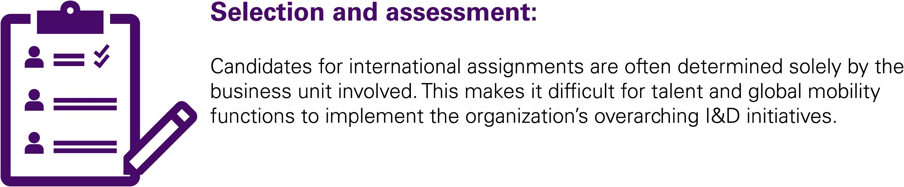 Selection and Assessment