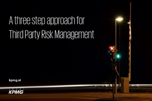 Three step approach for third party risk management