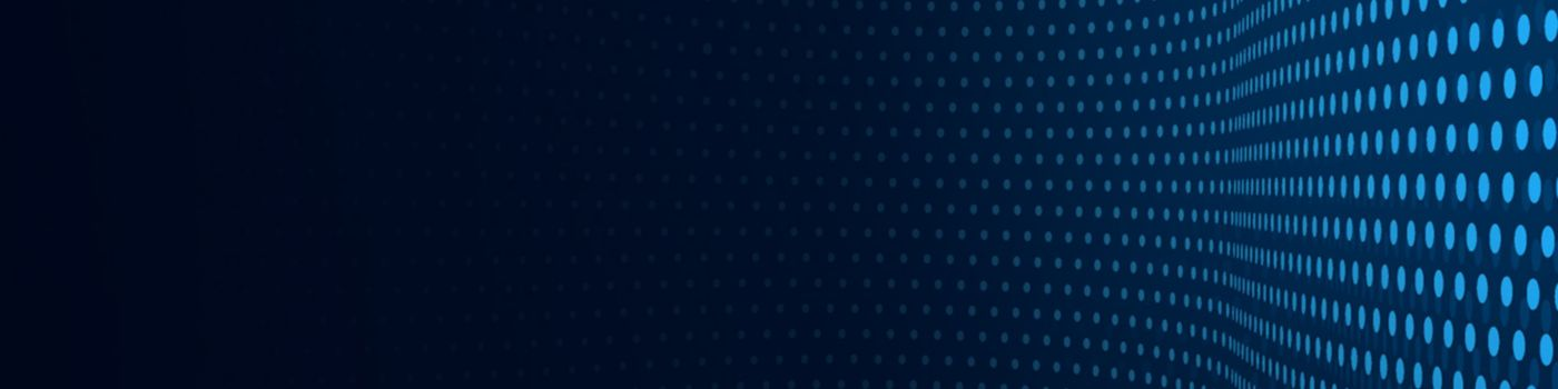 3D abstract dark blue background with dots pattern
