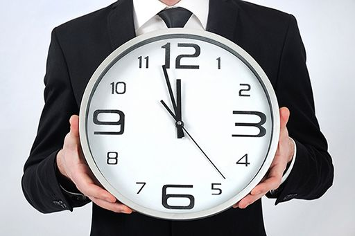 time is always of the essence