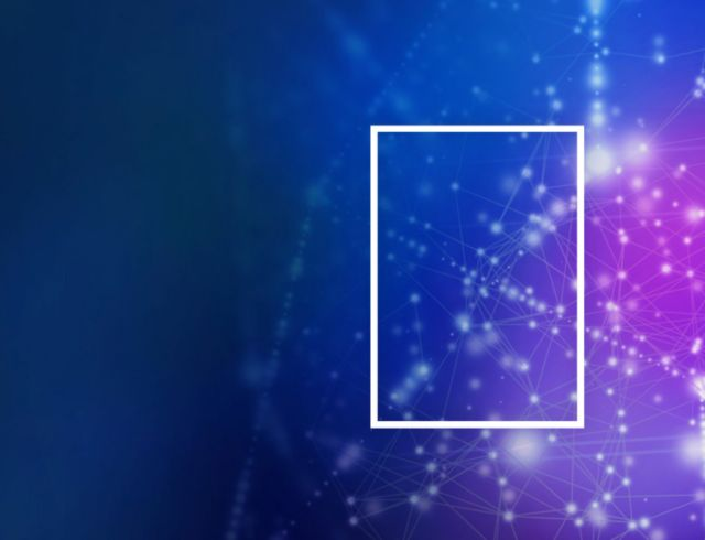 KPMG rectangle on abstract background