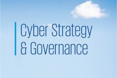 Cyber Strategy and Governance