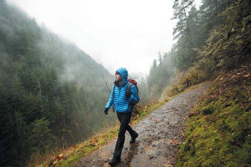 KPMG IFRS Business Combinations topic image: hiker walking on a forest path