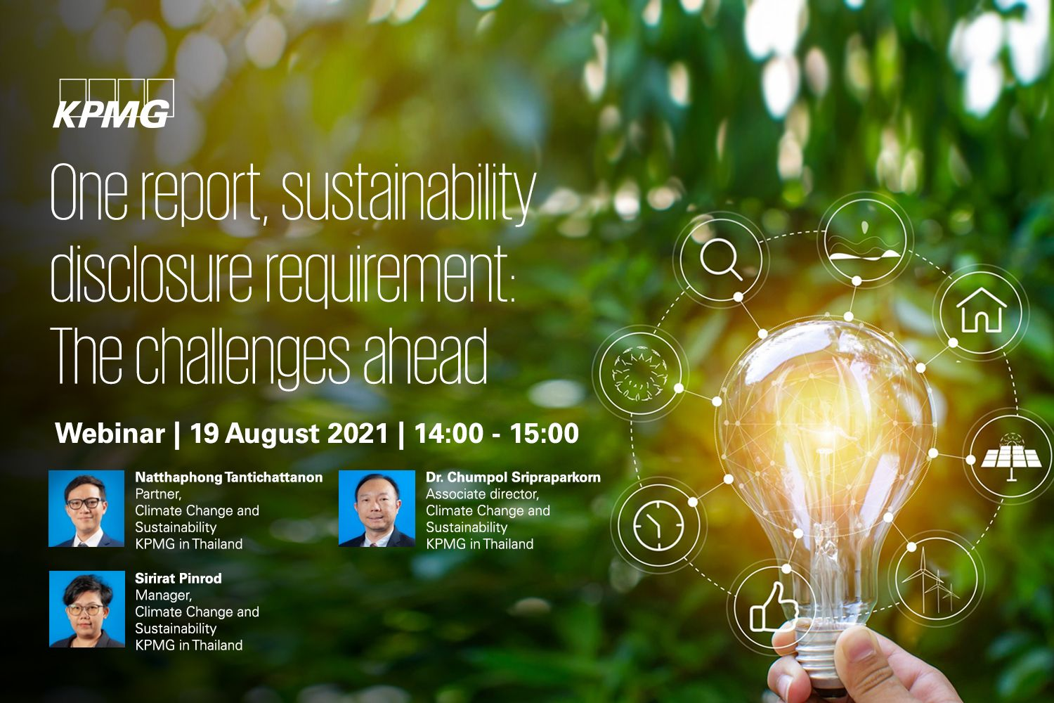 One report, sustainability disclosure requirement: The challenges ahead