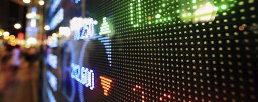 KPMG IFRS investment entities amendments article image: numbers on an LED-matrix display