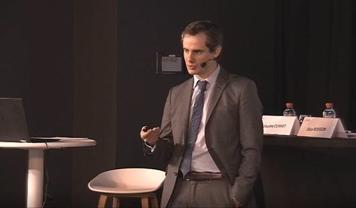 Guillaume Cuisset (Senior Manager IT Risk Consulting, KPMG) lors de son intervention à l'Institut Français de l'Audit et du Contrôle Interne en mars 2019