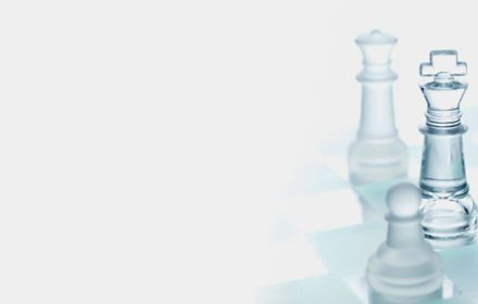 IFRS 16 glass chess pieces