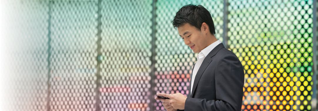 KPMG IFRS 15 (new revenue standard) for sectors topic image: person using a mobile device