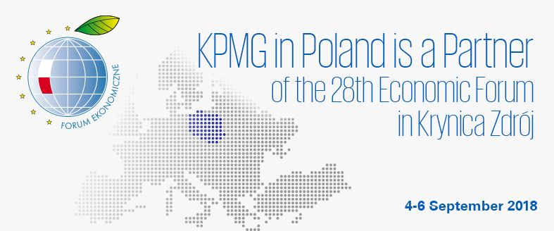 KPMG in Poland is a Partner of the Economic Forum