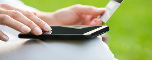 Banking with smartphone