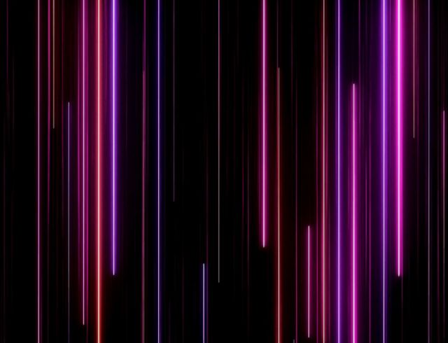 abstract straight lines in different colors