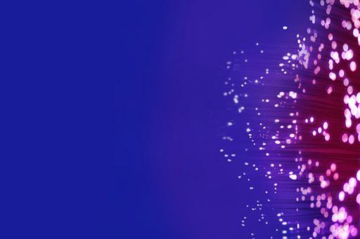 Abstract texture dots on purple & blue background