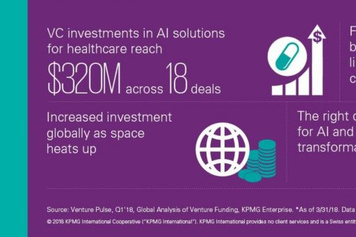 AI solutions for healthcare illustration