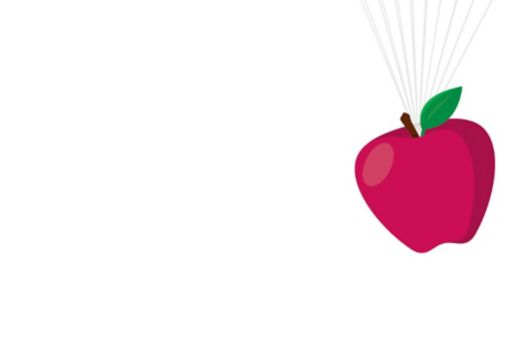 Apple parachute