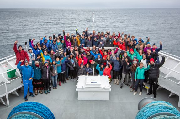 2041 Foundation's ClimateForce: Arctic 2019 leadership development expedition