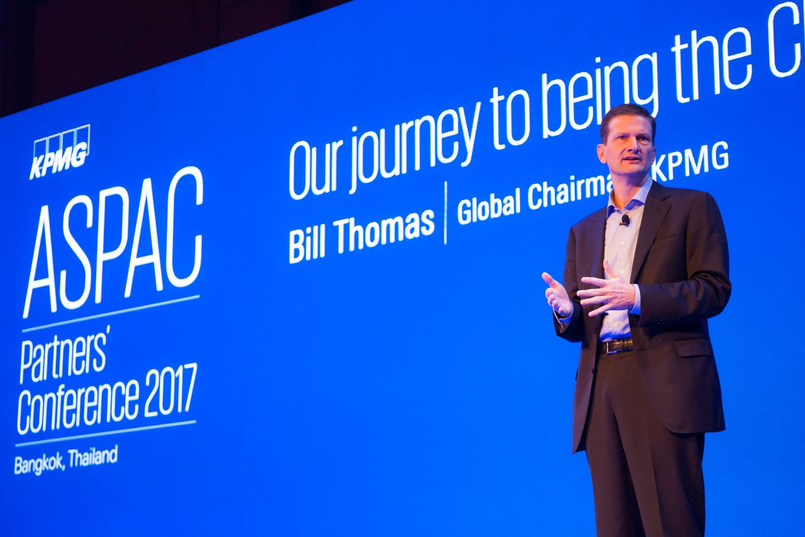 Bill Thomas, Global Chairman, KPMG International