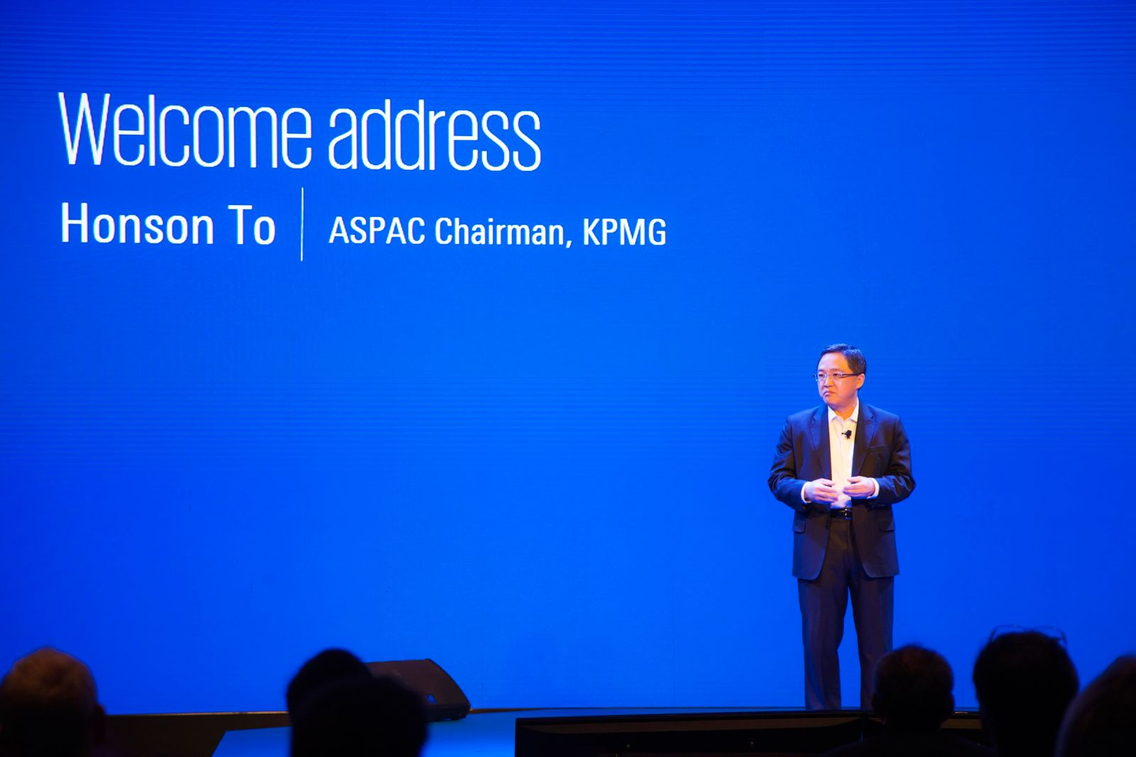 Honson To, Chairman, KPMG in China and Asia Pacific