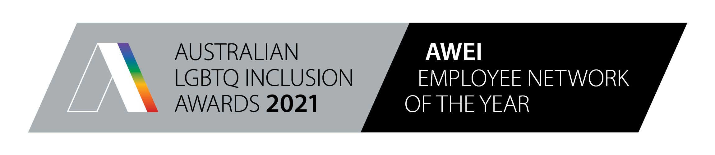 Australian LGBTQ Inclusion Awards 2021 – AWEI Employee Network of the Year