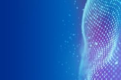 The future of HR in the technology sector - Blue mesh