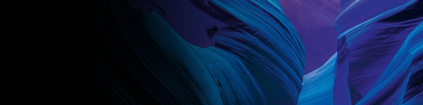 Blue and purple abstract image