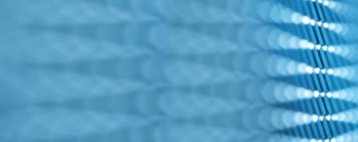 Blue wire cloth close-up pattern