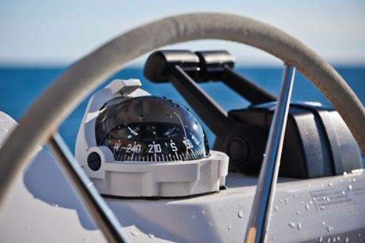 Steering wheel boat