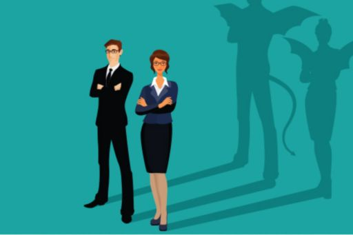 business-people-with-devilish