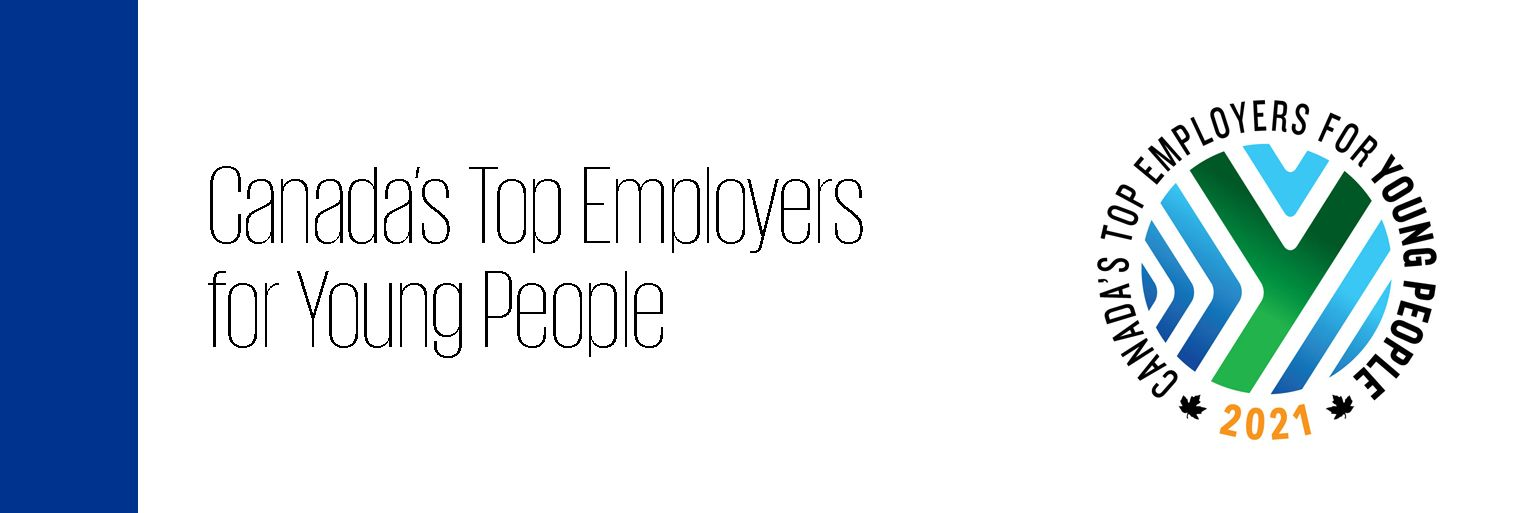 Canada's Top Employer for Young People 2021