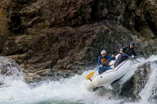 Chief Economist's note: forecasts downgraded - two kayakers in white water