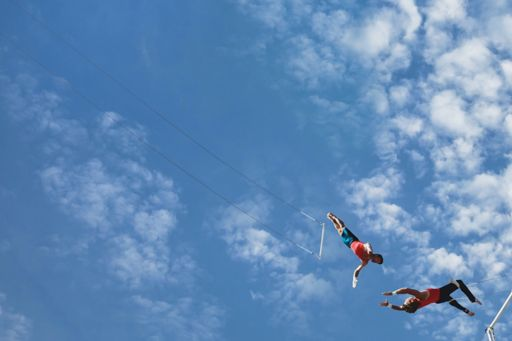 Changing Futures - Insight-led improvement - trapeze artists