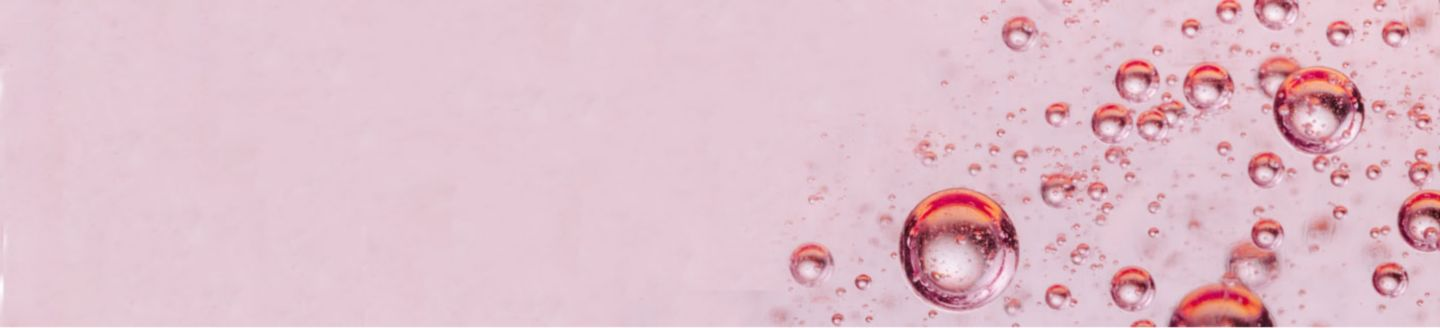 rose water bubbles