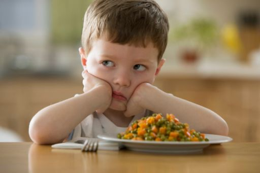 Child not eating food