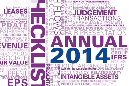 Guide to annual financial statements - Disclosure checklist - September 2014