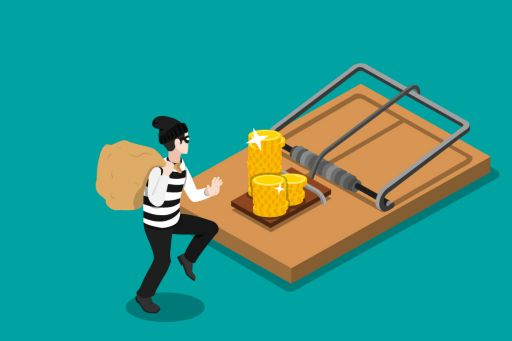 Cat and mouse: The latest banking fraud risks and how to beat them - conman sees gold on mousetrap