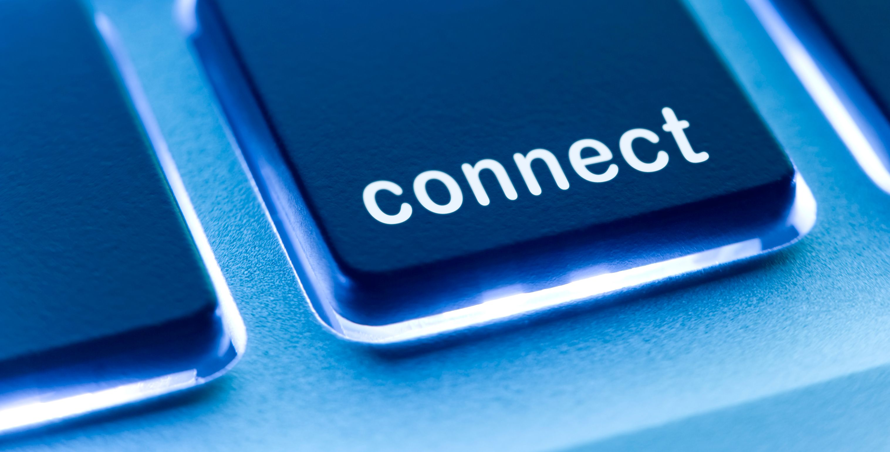 Connect button on keyboard
