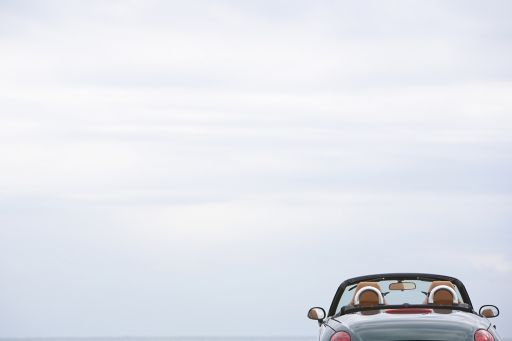 convertible under the sky