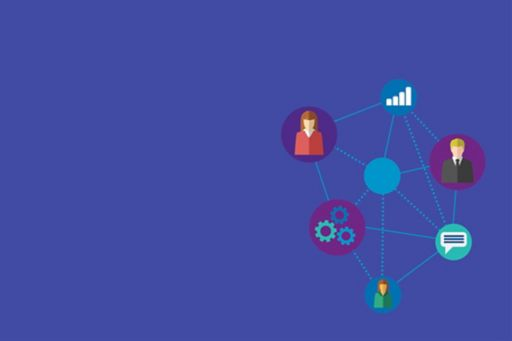 Internal Audit: Connecting the dots - circles connected with lines