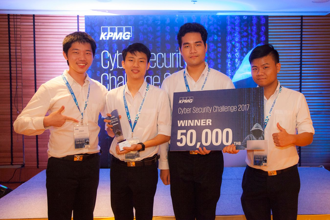 Team CPCUCTF from Chulalongkorn University secured first place.
