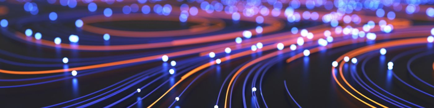 Lights in different colors in digital strings