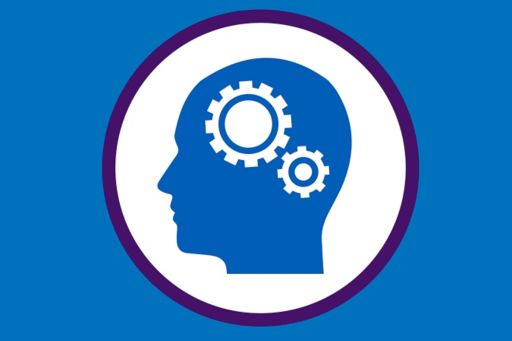 Illustration of cogs in a human head
