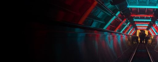 KPMG Global PropTech Survey 2019 - elevator-going-down-with-blue-red-lights-on-top