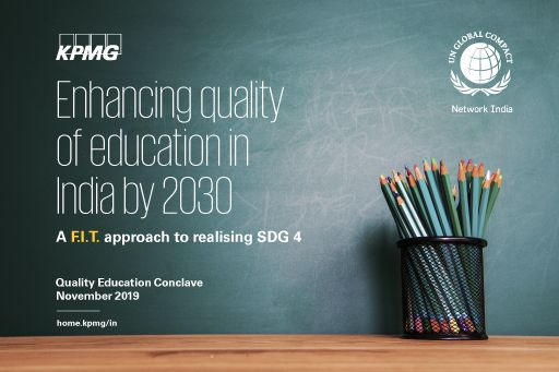 Enhancing quality of education in India by 2030
