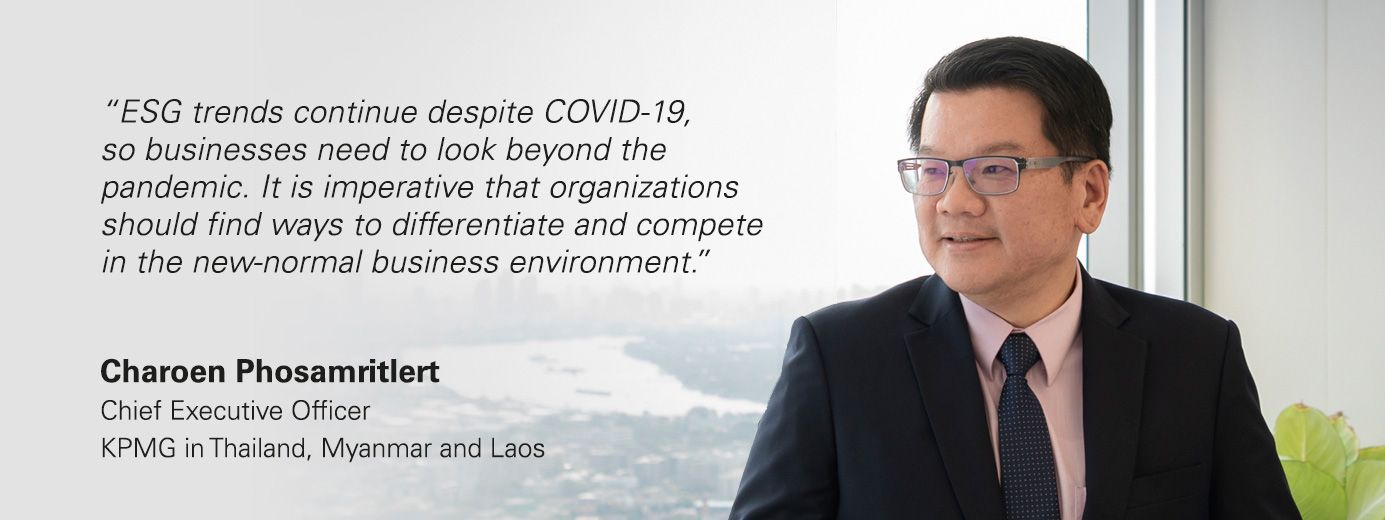Charoen Phosamritlert, Chief Executive Officer, KPMG in Thailand, Myanmar and Laos